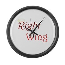 Right Wing Large Wall Clock