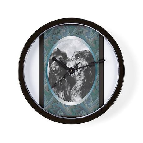 Scottish Deerhound Designer Wall Clock