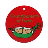 Grandparents of twins Ornaments
