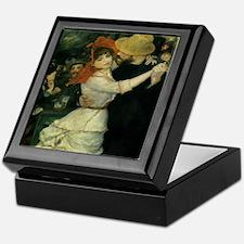 Dance at Bougival by Renoir Keepsake Box