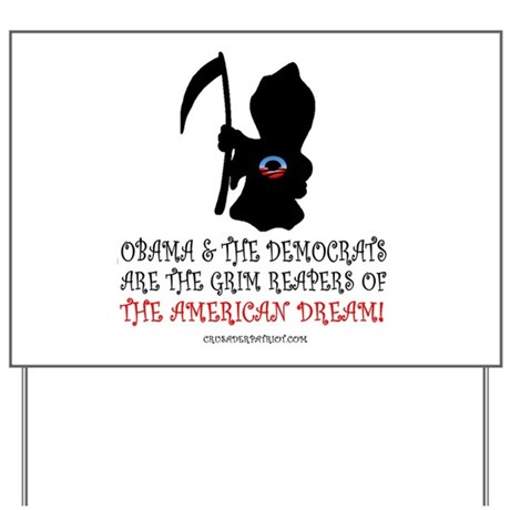 THE GRIM REAPERS! Yard Sign