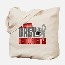 I Wear Grey For My Granddaughter 6 Tote Bag