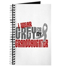 I Wear Grey For My Granddaughter 6 Journal