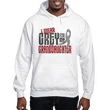 I Wear Grey For My Granddaughter 6 Hoodie