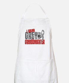 I Wear Grey For My Granddaughter 6 BBQ Apron