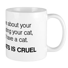 No Declawing Mug