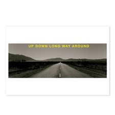 UPDOWNLONGWAYAROUND Postcards (Package of 8)