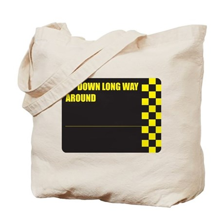 UPDOWNLONGWAYAROUND Tote Bag