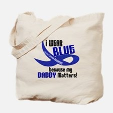 I Wear Blue For My Daddy 33 CC Tote Bag
