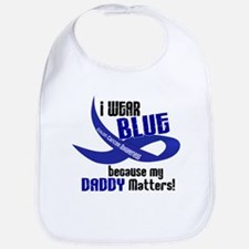 I Wear Blue For My Daddy 33 CC Bib