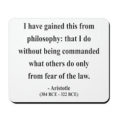 Aristotle 8 Mousepad