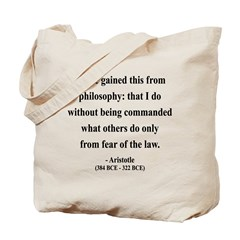 Aristotle 8 Tote Bag