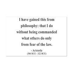 Aristotle 8 Posters