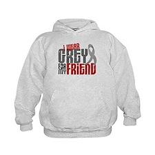 I Wear Grey For My Friend 6 Hoody