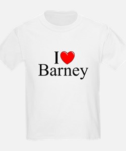 """I Love (Heart) Barney"" T-Shirt"