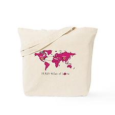 14,430 Miles of Love China (pink dots)