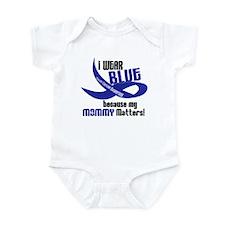 I Wear Blue For My Mommy 33 CC Infant Bodysuit