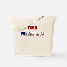 Team Puerto Rico Tote Bag