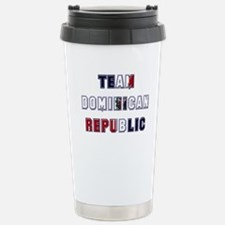 Team Dominican Republic Travel Mug