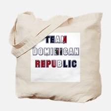Team Dominican Republic Tote Bag