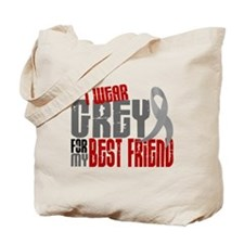 I Wear Grey For My Best Friend 6 Tote Bag