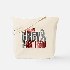 I Wear Grey For My Best Friend 6 Tote Bag