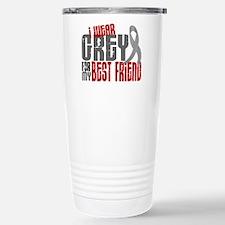 I Wear Grey For My Best Friend 6 Travel Mug