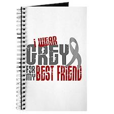 I Wear Grey For My Best Friend 6 Journal