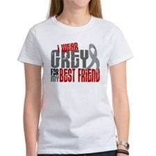 I Wear Grey For My Best Friend 6 Tee