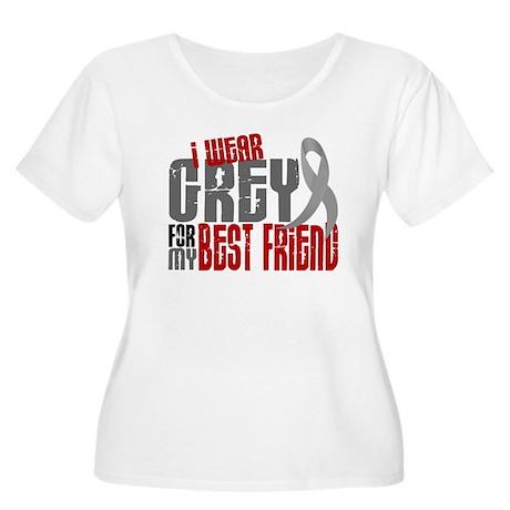 I Wear Grey For My Best Friend 6 Women's Plus Size