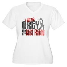 I Wear Grey For My Best Friend 6 T-Shirt