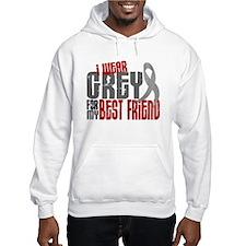 I Wear Grey For My Best Friend 6 Jumper Hoody