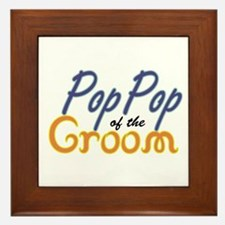 PopPop of the Groom Framed Tile