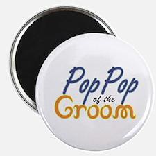 "PopPop of the Groom 2.25"" Magnet (10 pack)"