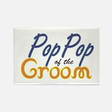 PopPop of the Groom Rectangle Magnet (10 pack)
