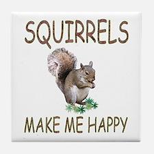 Squirrels Tile Coaster