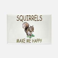 Squirrels Rectangle Magnet