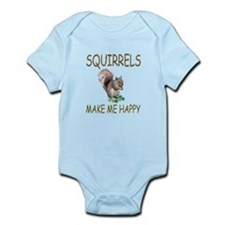 Squirrels Infant Bodysuit