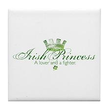 Cute Irish girl Tile Coaster