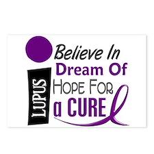 BELIEVE DREAM HOPE Lupus Postcards (Package of 8)
