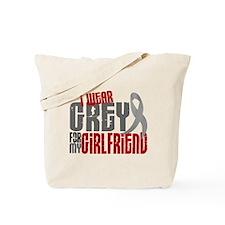 I Wear Grey For My Girlfriend 6 Tote Bag