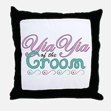 YiaYia of the Groom Throw Pillow