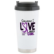 Needs A Cure 2 LUPUS Stainless Steel Travel Mug