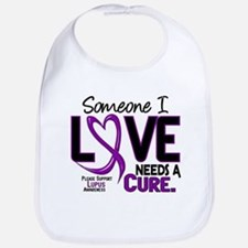 Needs A Cure 2 LUPUS Bib