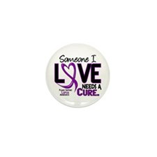 Needs A Cure 2 LUPUS Mini Button (10 pack)