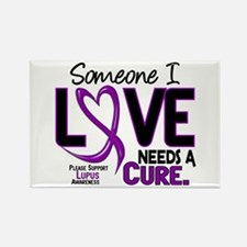 Needs A Cure 2 LUPUS Rectangle Magnet (10 pack)