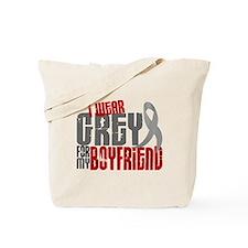 I Wear Grey For My Boyfriend 6 Tote Bag