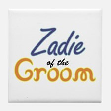 Zadie of the Groom Tile Coaster