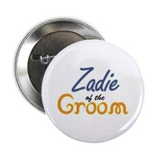 """Zadie of the Groom 2.25"""" Button (10 pack)"""