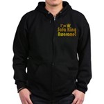 I'm Sofa King Awesome Zip Hoodie (dark)